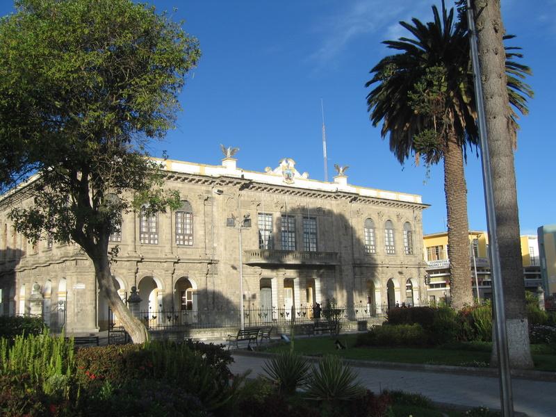 Latacunga Architecture