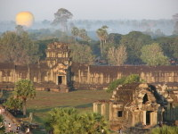 View_from_top_of_angkor_to_outer_walls
